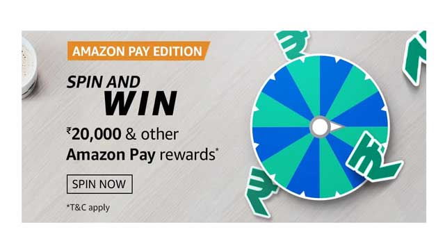 amazon pay edition spin quiz answers