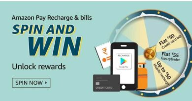 Amazon Pay Recharge & Bills Quiz Answers