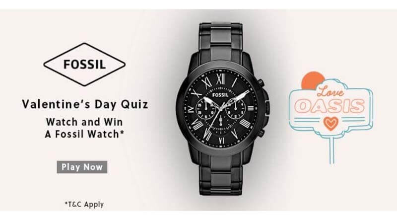 Amazon Fossil Valentines Day Quiz Answers