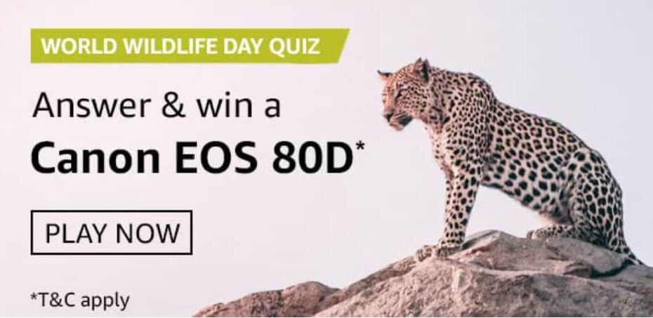 Amazon World Wildlife Day Quiz Answers